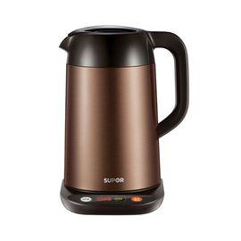 苏泊尔 (SUPOR )电水壶热水壶电热水壶 电子调温防烫保温 304不锈钢烧水壶 SWF17S01B