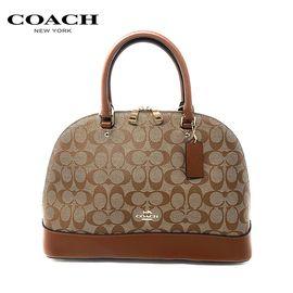 COACH 蔻驰(COACH)新款女士大款贝壳包手提斜挎女包 洲际速买