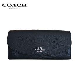 COACH 蔻驰(COACH)新款女士翻盖卡包钱包手拿包钱包女 洲际速买