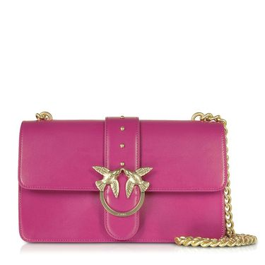 Pinko/品高 Pinko 品高 女士紫红色单肩包 1P216U-Y4YM-Y93意大利进口  GUSHANG GROUP