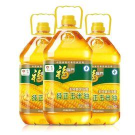 福临门 福临门 新年油礼组合 纯正玉米油3.5L*3