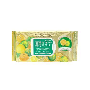 BCL Saborino早安面膜 青色橘子 28枚 日本进口