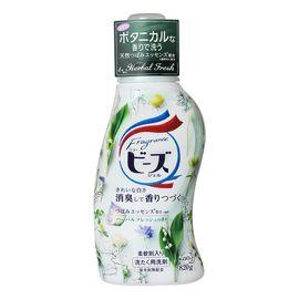 KAO/花王 洗衣液820g瓶装含柔顺剂蓬松柔软日本进口护色清洁去污洗衣液 香草香