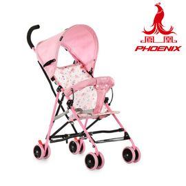 凤凰 儿童折叠手推车 高碳钢、高阻燃布料手推车6个月-3岁   FH-302