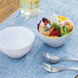乐美雅 (Luminarc)特瑞欧白色钢化无铅玻璃饭碗2只装 N5123