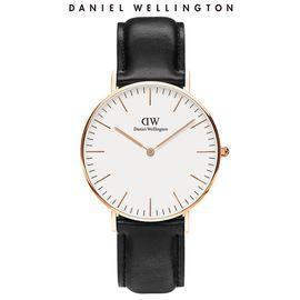 Daniel Wellington 丹尼尔惠灵顿DW女表 36mm表盘皮带超薄石英表
