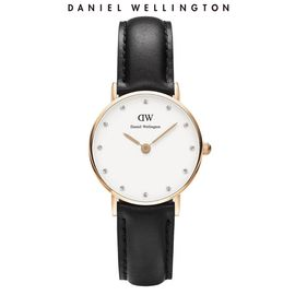 Daniel Wellington 丹尼尔惠灵顿 DW手表女 26mm表盘镶钻 皮带超薄石英表