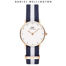 Daniel Wellington 丹尼尔惠灵顿 DW手表女 尼龙表带26mm表盘超薄石英表