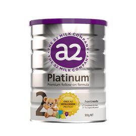 A2 (3罐)婴幼儿奶粉2段900g白金版 澳洲进口 美易在线