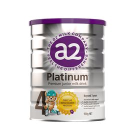 A2 (3罐)婴幼儿奶粉4段900g白金版 澳洲进口 美易在线