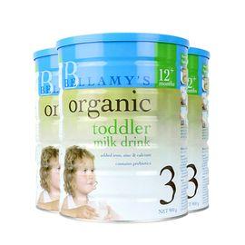 Bellamy's/贝拉米 3段婴幼儿有机牛奶粉900g(1岁以上) 澳洲进口 美易在线