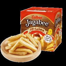 Calbee/卡乐比 日本进口 薯条三兄弟80g 膨化北海道网红小吃零食品  3盒包邮
