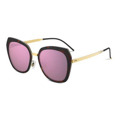 保圣 质感通透大框太阳镜男潮开车眼镜长脸女潮人墨镜PS6008