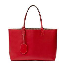 GUCCI 古驰 双面GG牛皮女士红色中号购物袋单肩包#368568 A9810 8411 联正国际