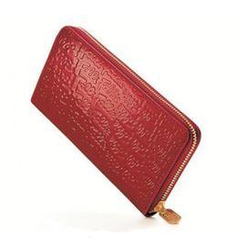 Folli Follie 女士时尚长款红色钱包