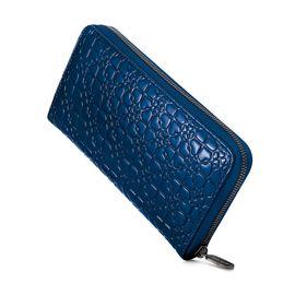 Folli Follie 女士时尚长款深蓝色钱包