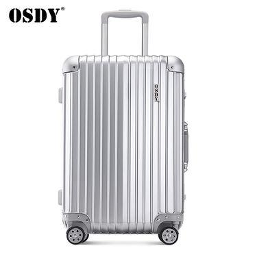 OSDY 热销经典防摔抗压静音万向轮铝框箱时尚20/24/26/29寸旅行箱拉杆箱行李箱