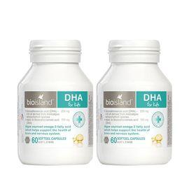 Bio island 【双瓶特惠】保护视力 脑聪明孕妇可用婴幼儿DHA海藻油 IVY