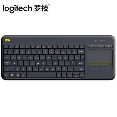 罗技 (Logitech)K400 Plus安卓智能电视电脑笔记本触摸面板无线触控键盘