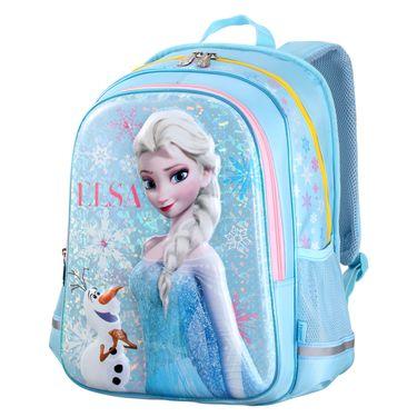 儿童背包 迪士尼儿童书包EVA立体冰雪奇缘1-4年级护脊小学生书包双肩包女生书包女童背包