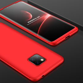 麦阿蜜 华为mate20pro手机壳LYA-AL00保护套创意撞色三段式拼接全包防摔轻薄磨砂硬壳潮流