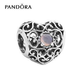 PANDORA 潘多拉 六月925银月长石串饰791784MSG
