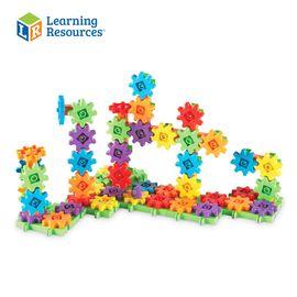 LEARNING RESOURCE Gears 儿童益智积木拼装齿轮玩具 3-6周岁