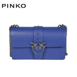 PINKO /品高 LOVE SIMPLY系列 链条斜挎包 1P20ZX Y3YG 意大利进口 经典燕子包 洲际速买