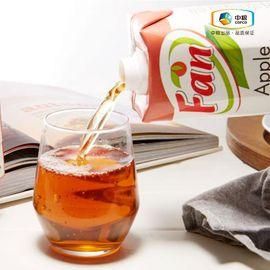 中粮 【中粮海外直采】Fan纯果芬苹果汁 新鲜、果味纯正、不使用防腐剂、无菌、含丰富的维生素( 塞浦路斯进口)