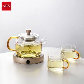 ABS 爱彼此 Randell耐热玻璃茶具礼盒(3件组)