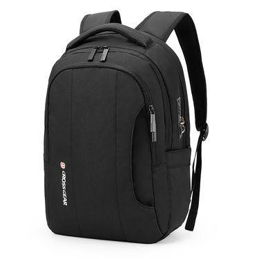 CROSSGEAR 瑞士军刀 户外防盗密码锁双肩包 尼龙15.6英寸电脑包 外置USB充电背包 旅行包 CR-9005I