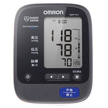 欧姆龙 (OMRON)电子血压计 家用 HEM-7211 (上臂式)(不含电源适配器)