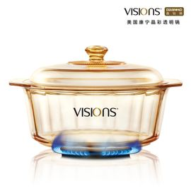 World Kitchen 康宁 VISIONS 晶彩透明锅  VS-35-DI 3.5升(晶钻煮锅)
