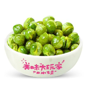 口水娃 青豌豆26g*10袋  蒜香味 *10