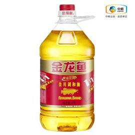 金龙鱼 黄金比例食用调和油(桶装 4L)食用油
