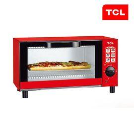 TCL 炫魅电烤箱家用多功能6L迷你烘培小烤箱TKX-J06A1