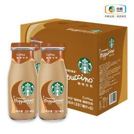 星巴克 星冰乐咖啡饮料 咖啡味281ml*6