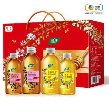 中粮 悦活 优选100蜂蜜礼盒1508g