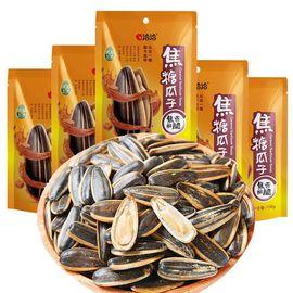 洽洽 焦糖瓜子108g*5 山核桃味黄油蜂蜜味咖啡味葵花籽零食休闲食品