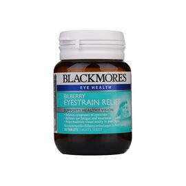 BLACKMORES/澳佳宝 蓝莓护眼片 防近视缓解眼睛干涩30片 澳大利亚进口 Rex