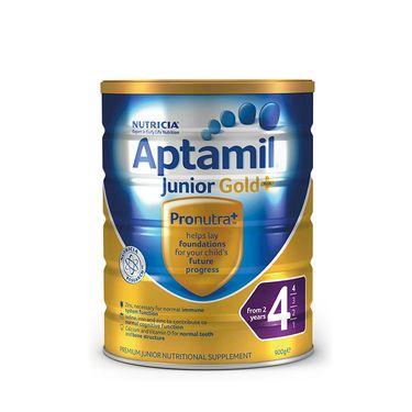 aptamil/爱他美 新西兰爱他美4段(2岁以上)金装婴幼儿牛奶粉900g 澳洲进口 益生元配方  美易在线