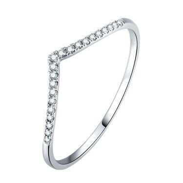 千禧之星 专柜同款白18K金钻石女戒/钻戒 灵变 SY01984