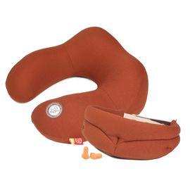 GiGi 记忆棉U型枕护颈枕飞机旅行枕 颈椎枕头记忆午睡枕头眼罩套装