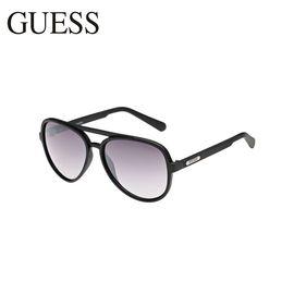 Guess /盖斯 太阳镜 GF0150 时尚黑框 洲际速买