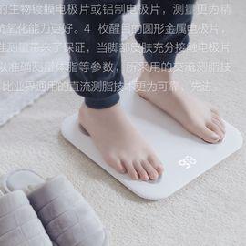 小米 体脂秤智能精准人体脂肪称成人减肥家用电子秤迷你健康体重秤