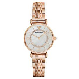 EMPORIO ARMANI 阿玛尼 手表钢制表带经典时尚休闲石英女士时尚腕表AR1909