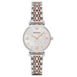 EMPORIO ARMANI 阿玛尼 手表 钢制表带经典时尚休闲石英女士腕表 AR1987