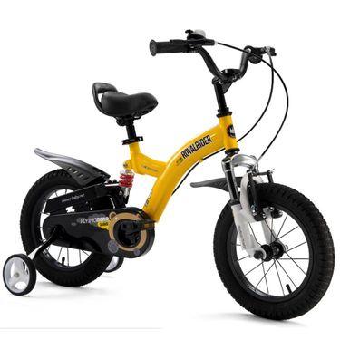 优贝/RoyalBaby 儿童自行车 双避震小飞熊自行车 RB18B-9 18寸
