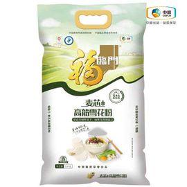 福临门 麦芯高筋雪花粉 优质面粉 饺子面条烘焙原材料 5kg