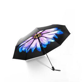 蕉下 BANANAUNDER双层防晒小黑伞晴雨伞三折伞(琉璃)
